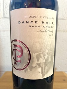 2016 Dance Hall Sangiovese